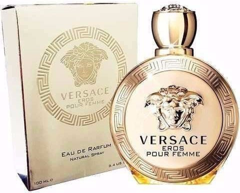 perfume original versace eros mujer 100 ml envio hoy