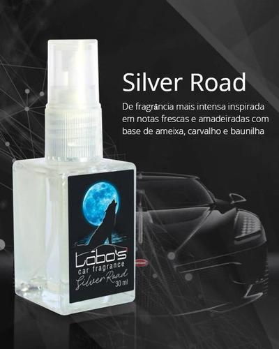 perfume p/ carro cheirinho fragancia lobos car - vidro 30ml