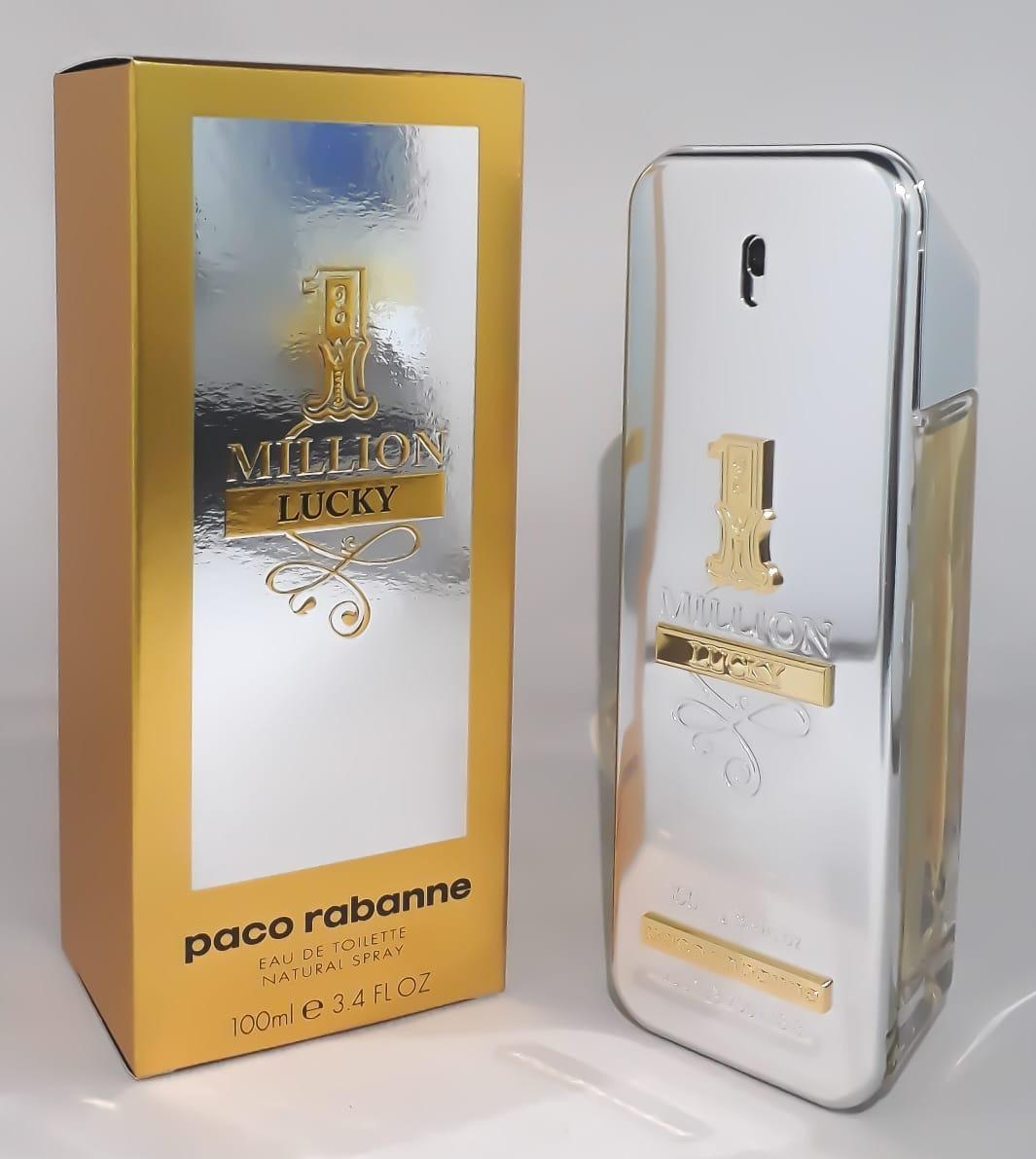 72da28cff Perfume Paco Rabanne One Million Lucky 100ml Edt Original!! - R  300 ...