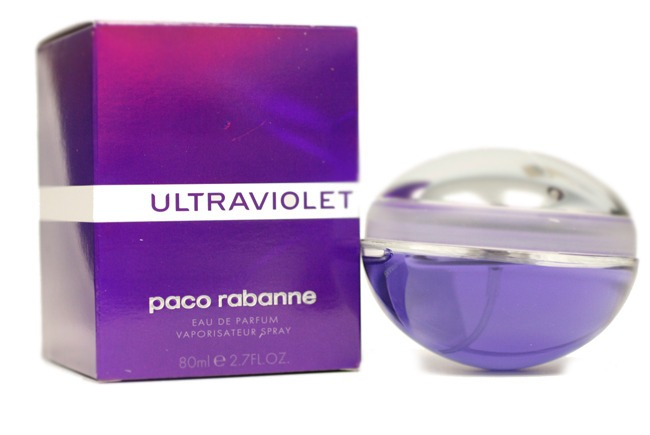 8b9b1249e Perfume Ultraviolet Paco Rabanne Feminino Edp 80ml Original - R  275 ...