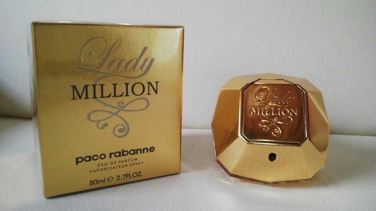 375753428 perfume lady million paco rabanne mujer 80ml original · perfume paco  rabanne mujer. Cargando zoom.