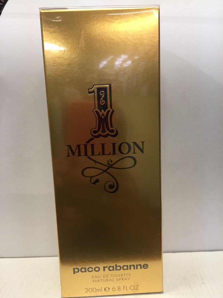 perfume paco rabanne one 1 million 200 ml edt original r. Black Bedroom Furniture Sets. Home Design Ideas