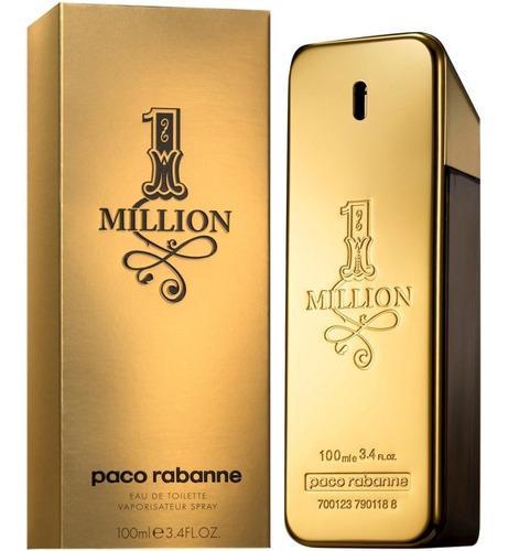 perfume -- paco rabanne one million ... 100ml original