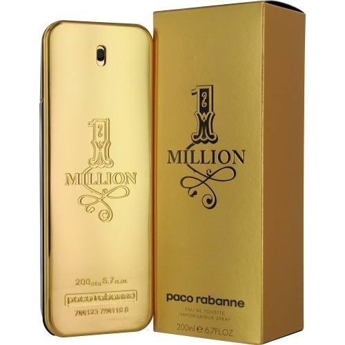 perfume paco rabanne one million 200 ml men