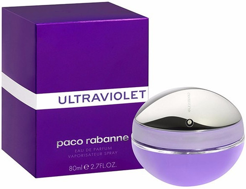 perfume paco rabanne ultraviolet original 80 ml envio hoy