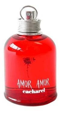 perfume para mujer amor amor de cacharel 100 ml original