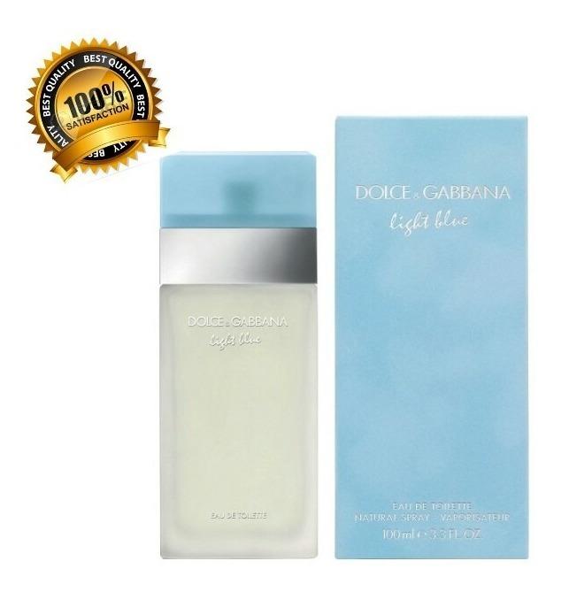 7ac0868f73 Perfume Para Mujer Dolce & Gabbana Light Blue 100ml Original ...