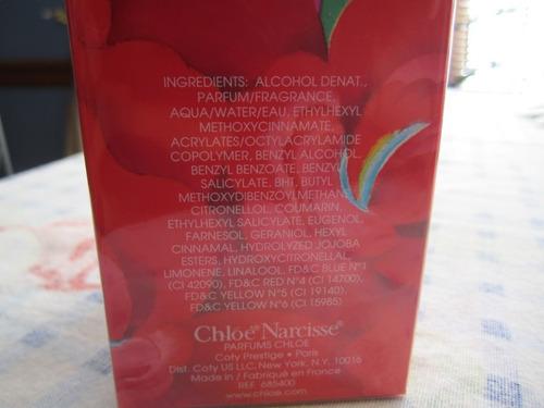 perfume para mujer narcisse marca chloe