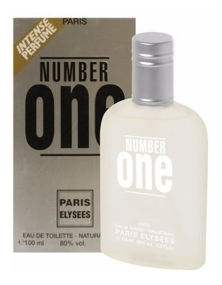 perfume paris elysees unissex number one (ck one) 100ml