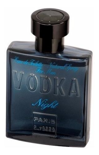 perfume paris elysees vodka night 100 ml - inspiração bleu