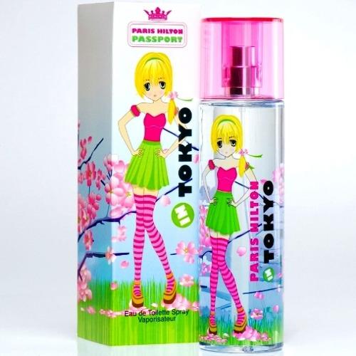perfume paris hilton passport in tokyo 100ml para mujer