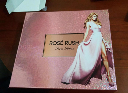 perfume paris hilton rose rush set