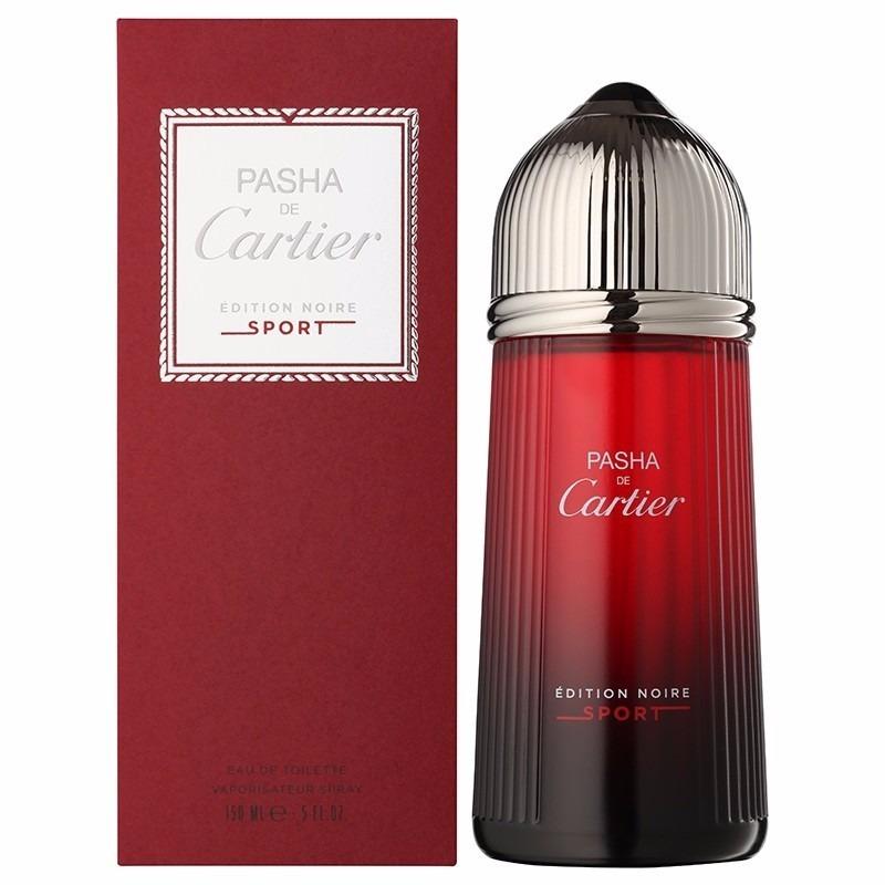 c172a0fa8f8 Perfume Pasha De Cartier Édition Noire Sport Edt 150ml- Novo - R  621