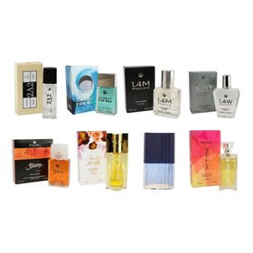 Perfume Paulvic (6 Und) Mujeres Y Hombre 50 Ml