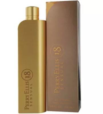 perfume perry 18 sensual de perry ellis para mujer original