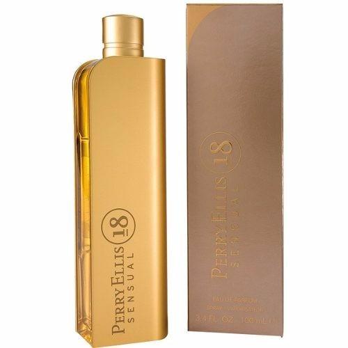 perfume perry ellis 18 sensual 100ml para mujer