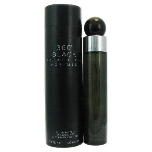 perfume perry ellis 360 black 100 ml men