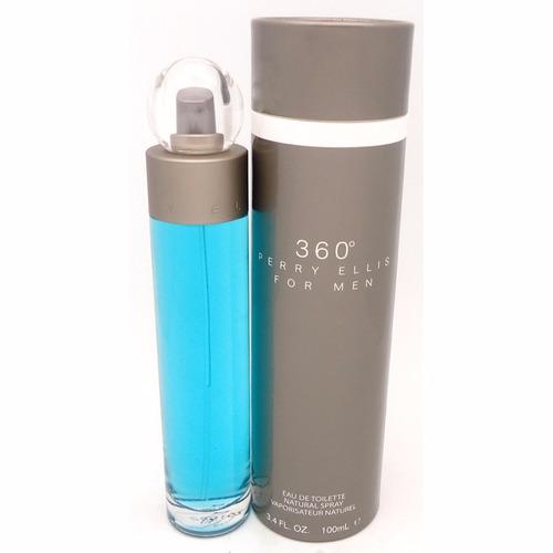 perfume perry ellis 360 men 100ml para hombre