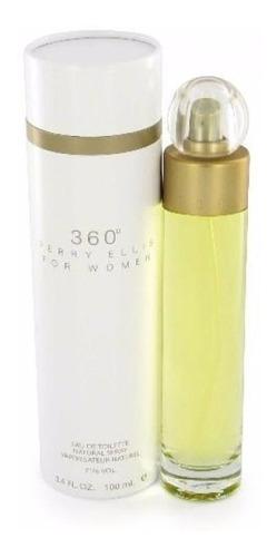 perfume perry ellis 360 para dama origi - ml a $990