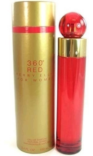 perfume perry ellis 360 red 100 ml women