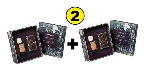 perfume pimenta preta korres 50ml + sabonete 90g 2 unidades