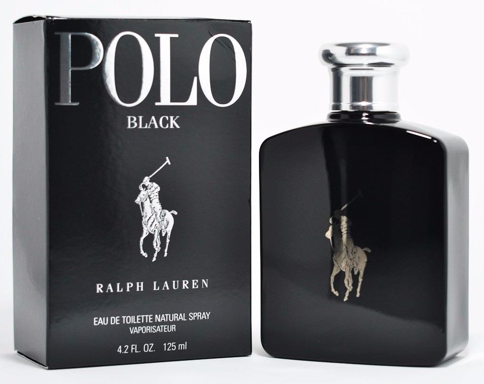 1c0be718a Perfume Polo Black 125ml Ralph Lauren - Original Lacrado - R  299