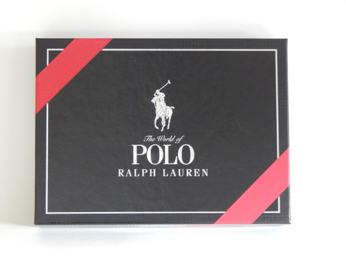 perfume polo black cofre edt 125 ml (after 125ml+ deo)
