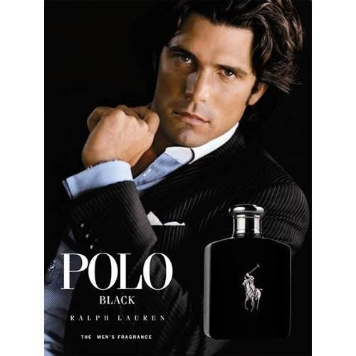 perfume polo black masculino edt 125ml - 100% original