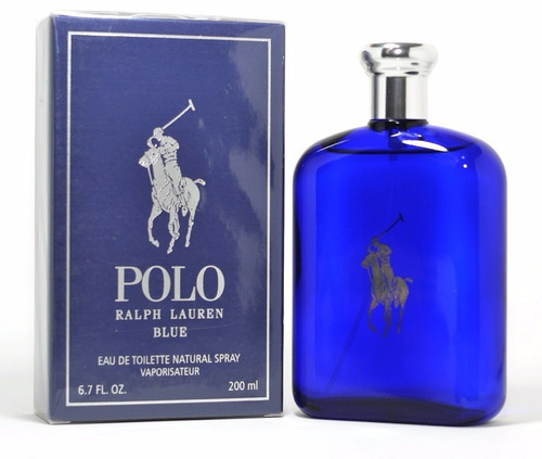 perfume polo blue 200ml - ralph lauren - original lacrado