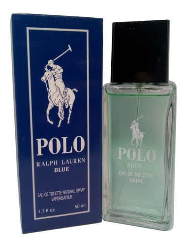 perfume polo blue - ralph lauren - 50ml masculino - ref240