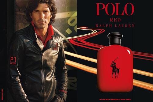 perfume polo red de ralph lauren de hombre 125 ml original