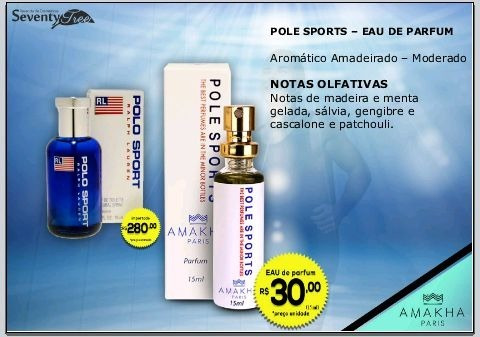 perfume polo sports - isnpiração polo sport