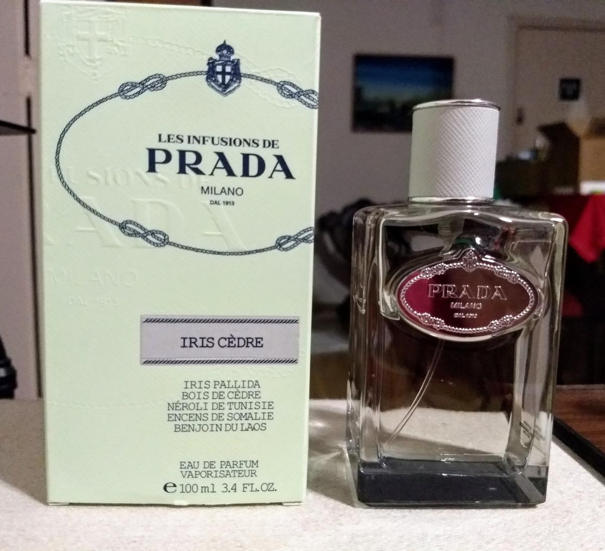 665a3ad48 Perfume Prada Infusion D'iris Cedre 100 Ml (usado) - R$ 269,00 em ...