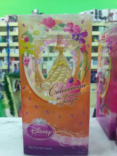 perfume princesas coleccionable