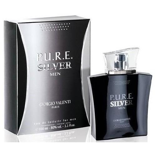perfume p.u.r.e. pure silver por giorgio valenti 3,3 / 3,4