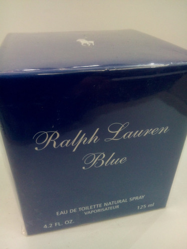 Perfume Ralph Lauren Blue Feminino 125 Ml Original Importado - R  468 b316dd808f9