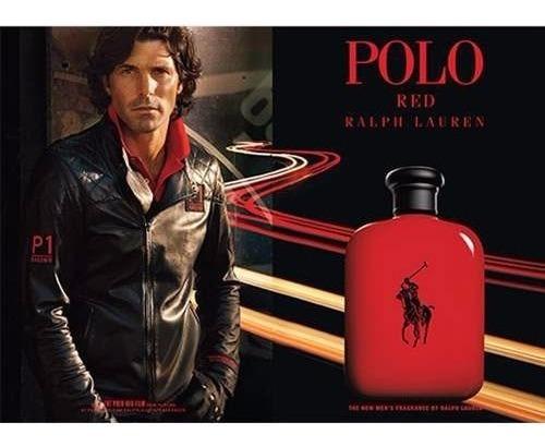perfume ralph lauren polo red 125 ml - ml a $1039