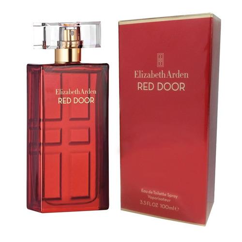 perfume red door feminino 100ml eau de toilette - original