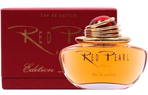 perfume red pearl edp paris bleu feminino 100ml