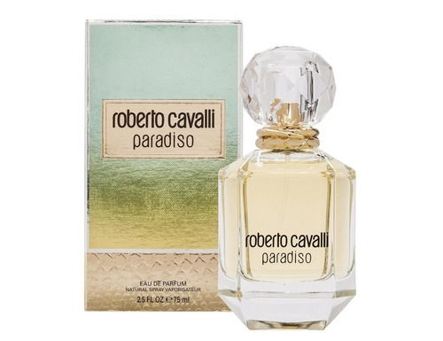 perfume roberto cavalli paradiso eau de parfum 75 ml