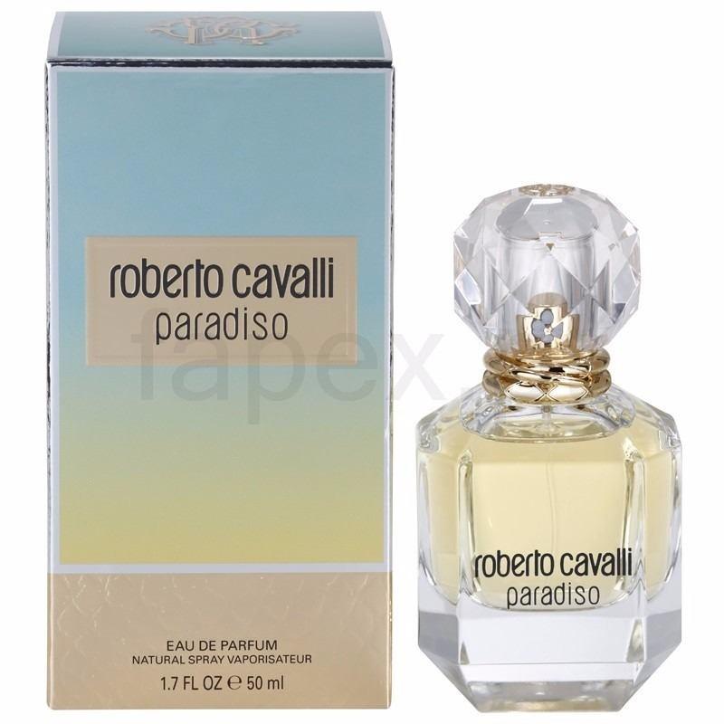 516e4fb9dadbe Perfume Roberto Cavalli Paradiso Femenino Edp 75 Ml - R  349