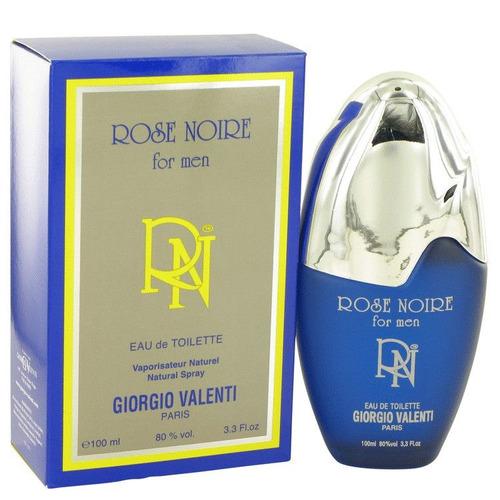 perfume rose noire de giorgio valenti para hombre