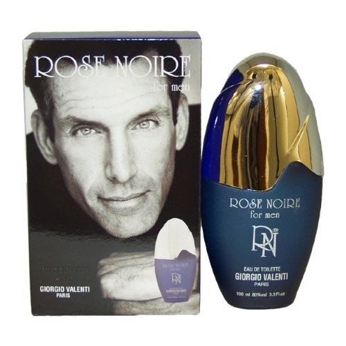 perfume rose noire por giorgio valenti para los hombres. ea