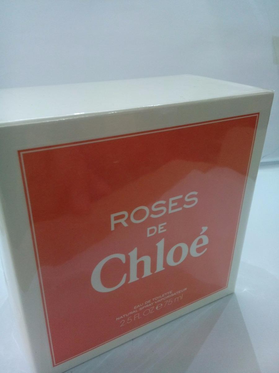 9741437bd6df0 perfume roses de chloé 75 ml feminino original importado. Carregando zoom.