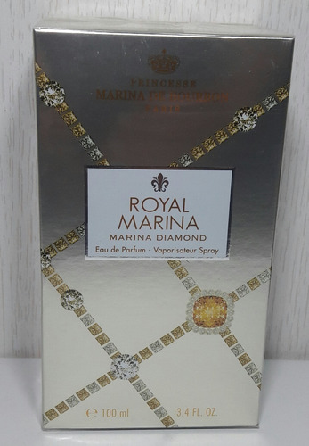 perfume royal diamond marina de bourbon 100 ml feminino edp