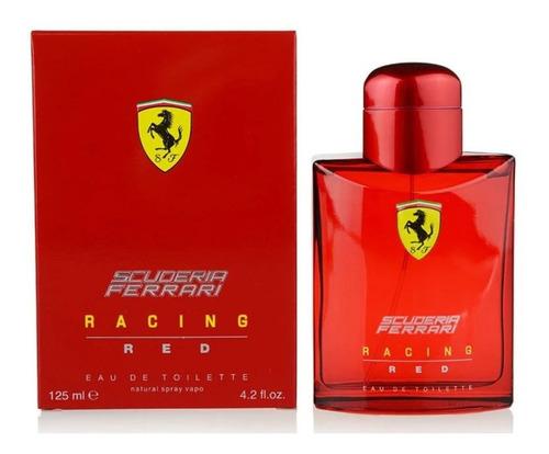 perfume scuderia ferrari racing red 125 ml