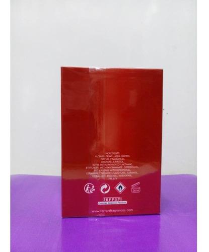 perfume scuderia ferrari red 125ml