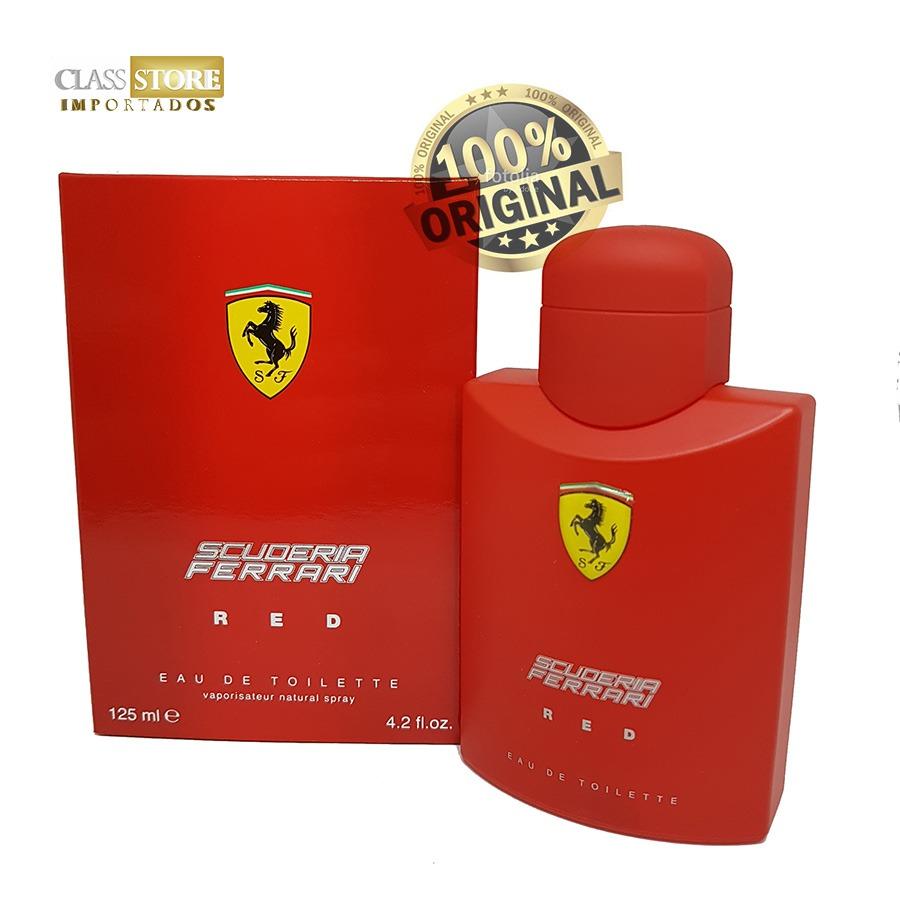 95112337f perfume scuderia ferrari red masculino 125 ml original. Carregando zoom.
