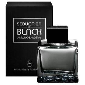 perfume seduction in black masculino 100ml edt 12x sem juros