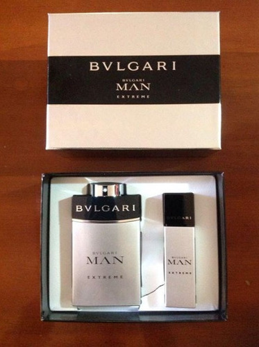 perfume set estuche bvgari man extreme 100ml para hombre
